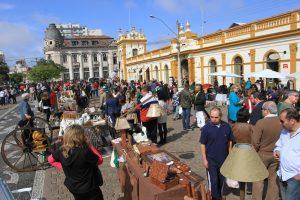mercado das pulgas - Foto DP
